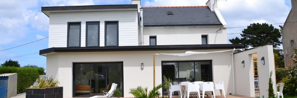 Extension de maison, agrandissement à Flers