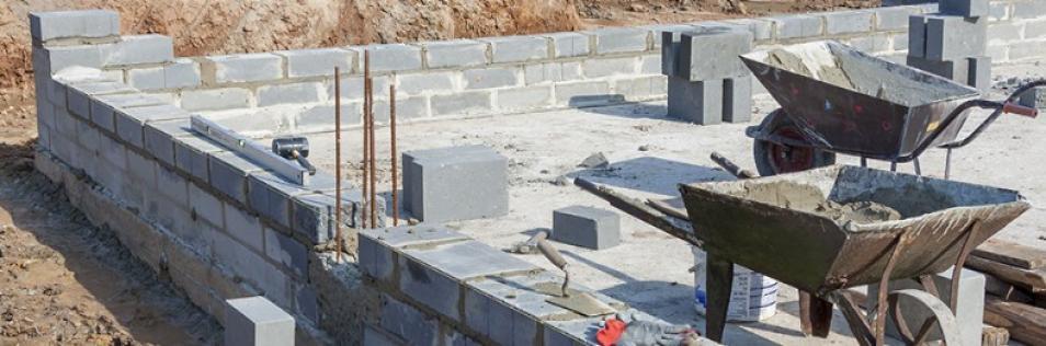 Construction de maison, maçonnerie paré à Olendon